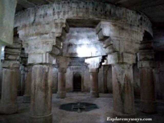 underground floor of Man Sing Palace