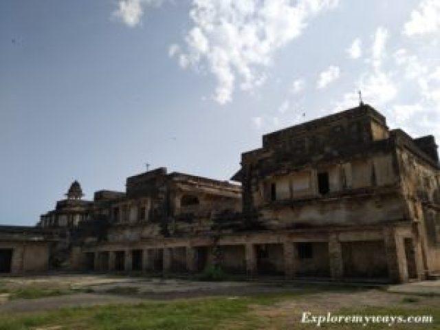 Karan Mahal in Gwalior Fort