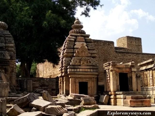 Temple of Bateshwar in MP