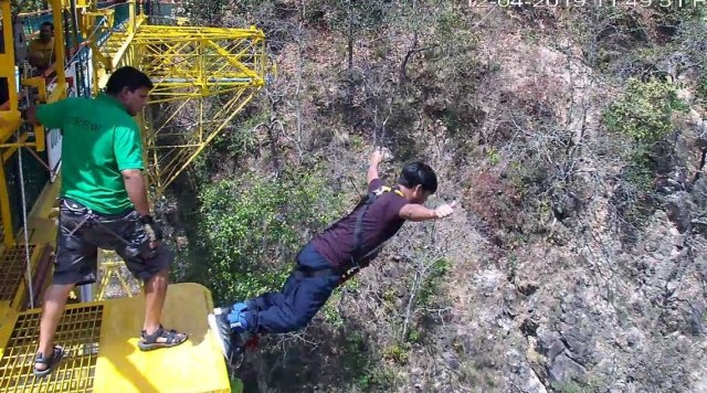 how to plan Bungee jumping in Rishikesh