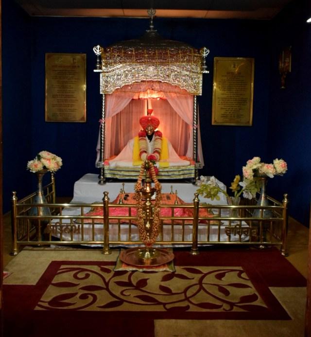 Statue of Harbhajan at Baba Mandir
