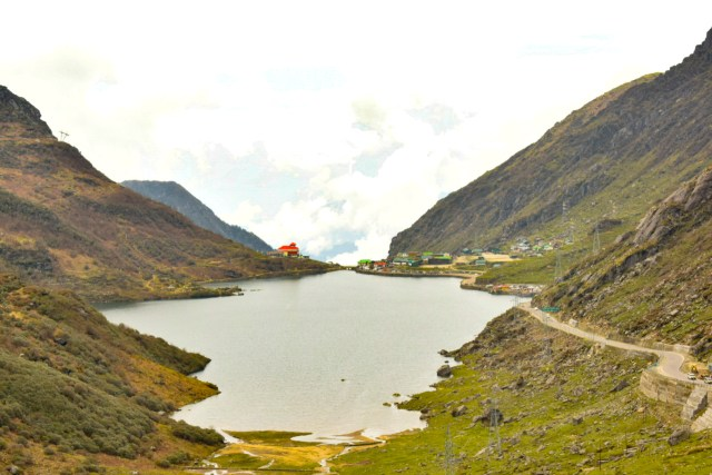 Tsogmo lake from Gangtok