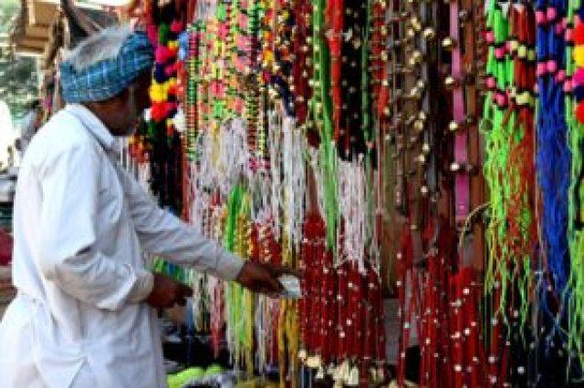 Items in Pushkar fair India