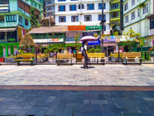shopping in Gangtok MG Market