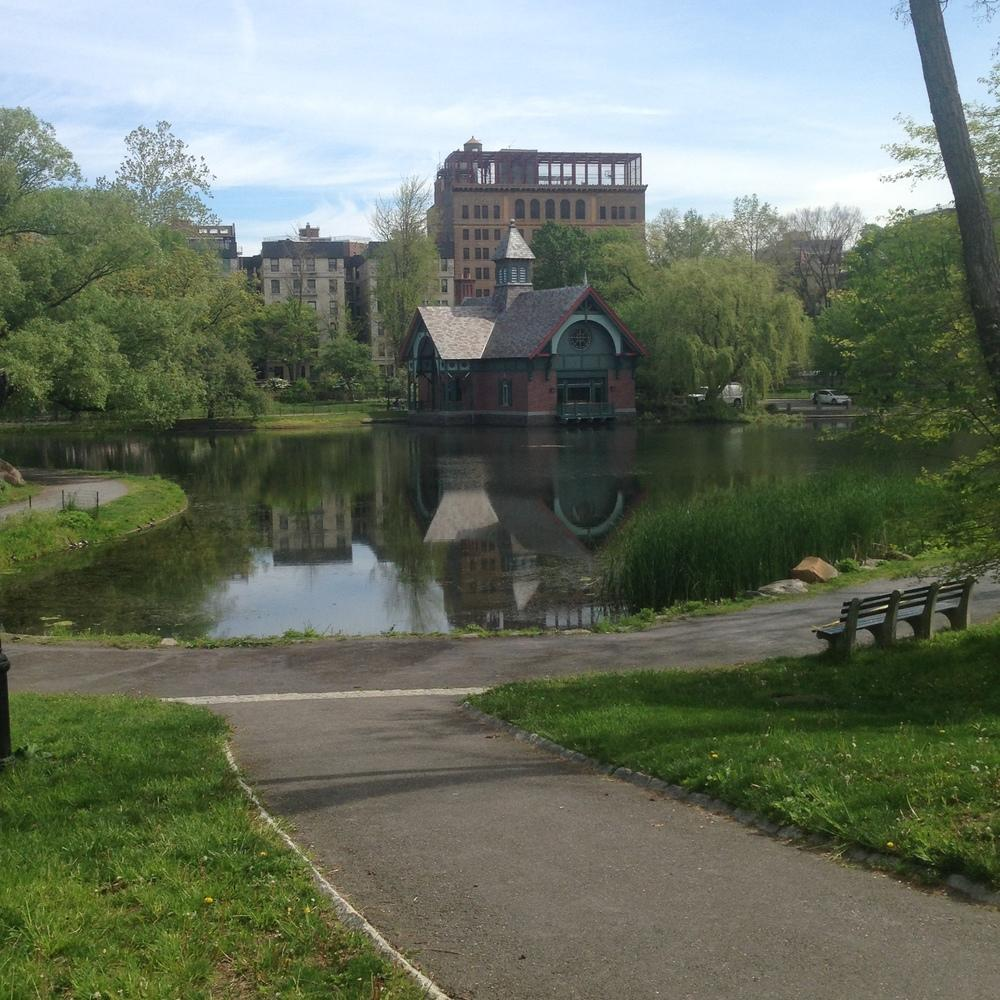 the Harlem Meer and part of today's version of McGowan's Pass