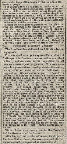 Text of the speech in the New York Times.