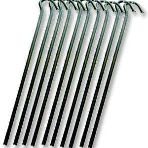 7″ Steel Wire Tent Peg 10 Pack