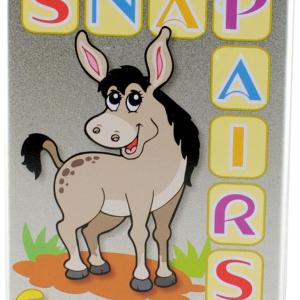 Snap and Pairs Card Game, Farmyard