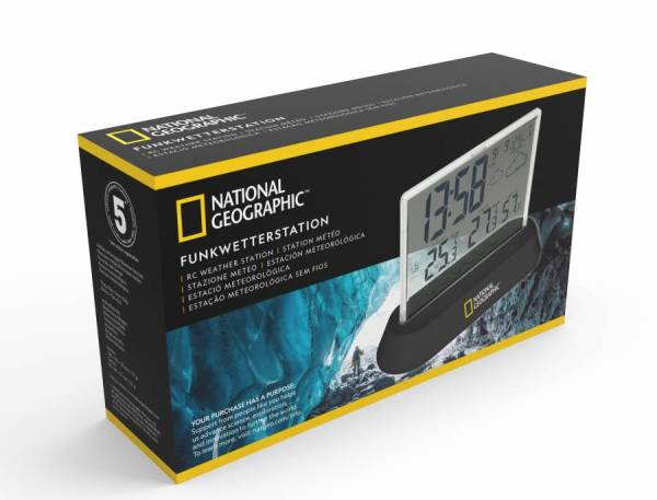 National Geographic – Weather Station transparent