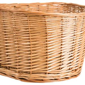 "Adie Wicker Basket 16"" D-Shape"