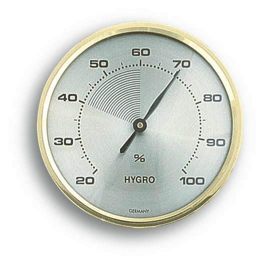 TFA – Analog hygrometer with brass ring