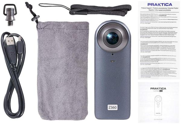 Luxmedia Z360 20MP Camera with WiFi and 4K Video