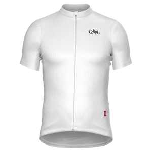 Sigr – Hägg White Cycling Jersey for Men