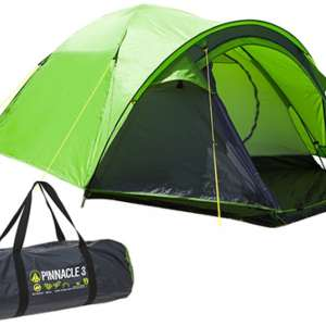 Summit H-Halt Pinnacle Double Skin Dome Tent 3 Person