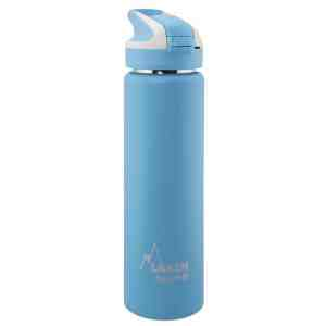 Laken – Steel thermo bottle 18/8 Summit – 0.75L – Cyan