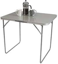 Grey/ Silver Folding Table