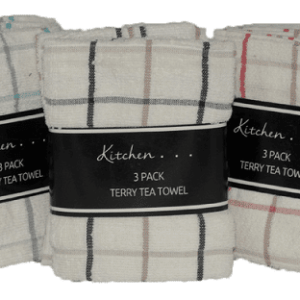 Tea Towel Pack of 2 – Assorted Colours