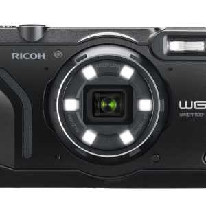Ricoh WG-6 20MP 5x Zoom Tough Compact Camera – Black