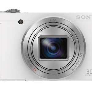 Sony DSC-WX500 18MP 30x Zoom Compact Camera – White