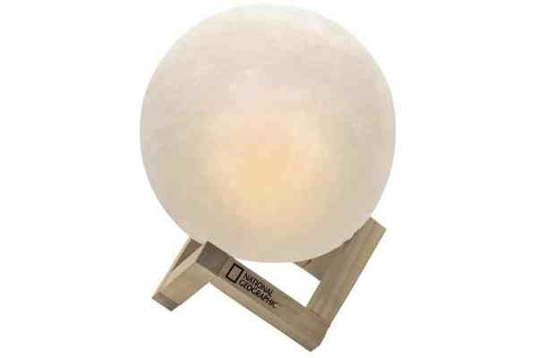 National Geographic 3D Moon Lamp with Stand