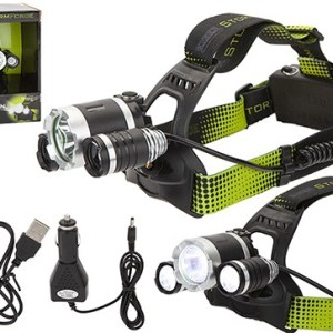 StormForce 10W T6 Matterhorn Rechargeable Head Torch
