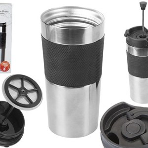 B&Co Hamelin 380ml Commuter Mug With Cafetiere Press