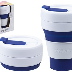 MyBento Tall 355ml/12oz Pop Cup – Navy Blue