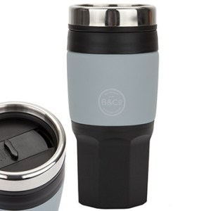 B&Co 400ml / 14oz Insulated Mug – Grey