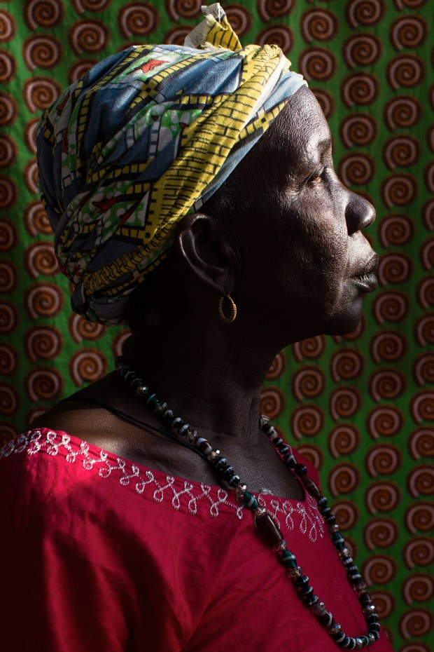 Yabou Diallo, from Kandia Village, was married at 18. Diallo is a mediator within her community. She didn't play a leadership role until the Grandmother Project empowered her to do so, and now she feels like she has earned respect that she did not have before.