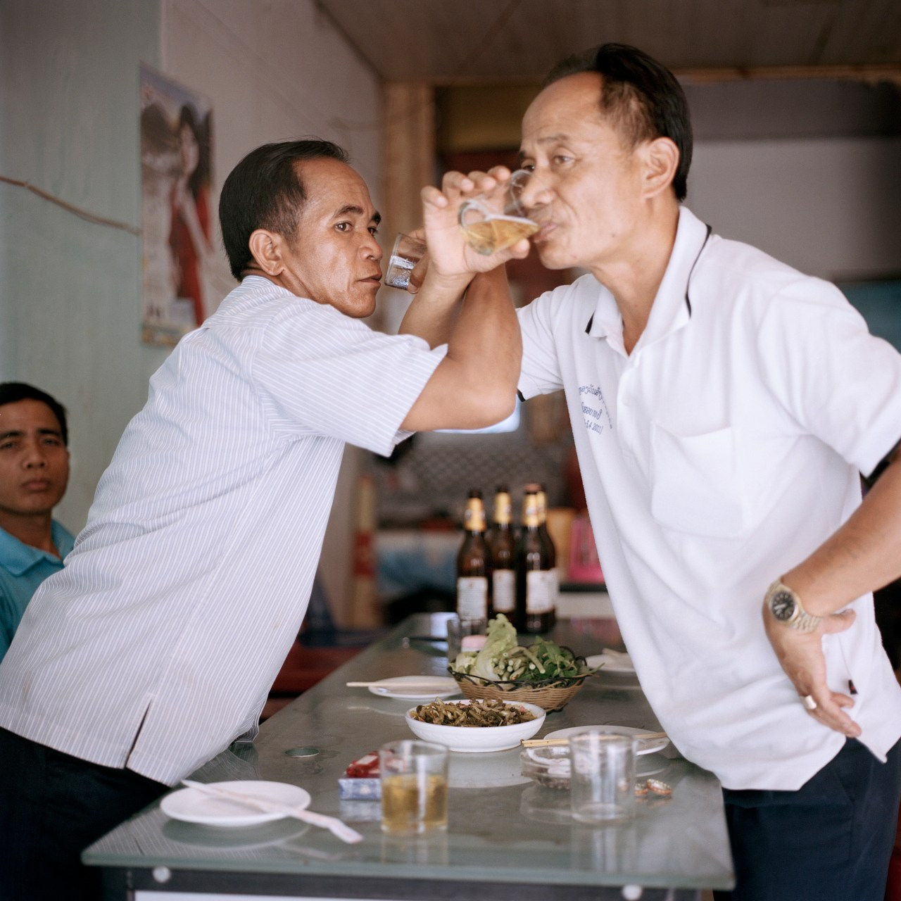 Laotians are still minorities in Boten. They work as border patrol and customs officers, and a few own small businesses.