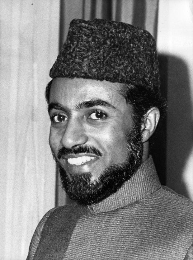 September 20, 1973: Sultan Qaboos bin Said al Said. (Central Press/Stringer/Getty Images)