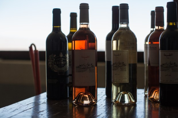 A selection of wines made at the Couvent Rouge winery.