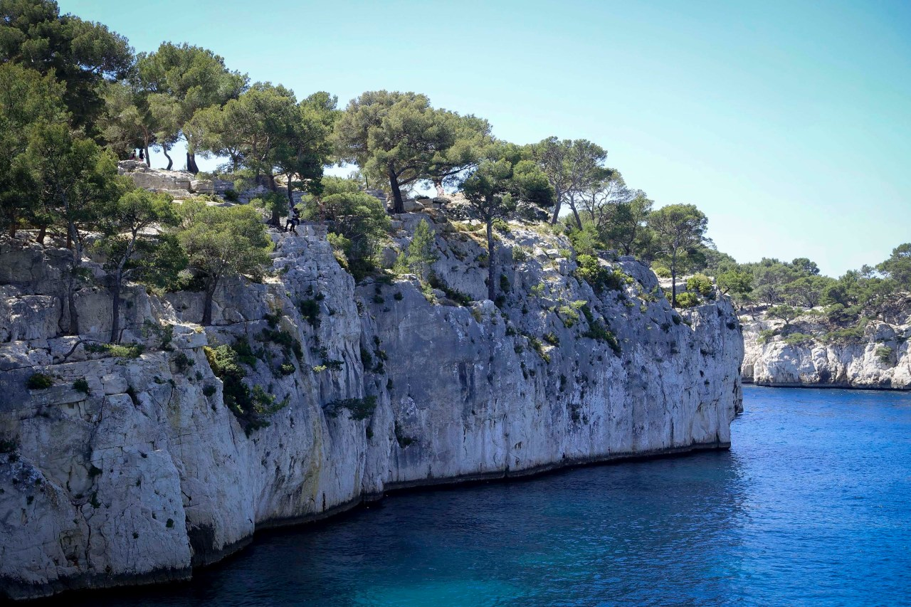 A calanque in the south of France.