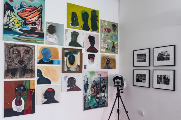 Photographs and paintings by Osaretin Ugiagbe.