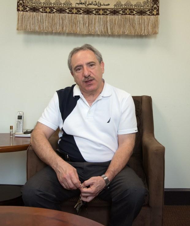 Dr. Saleh M. Sbenaty, Professor and Program Coordinator of the Islamic Center.