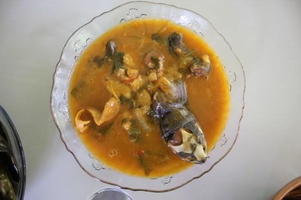 Turtle soup. (Photo by Bill Esparza)