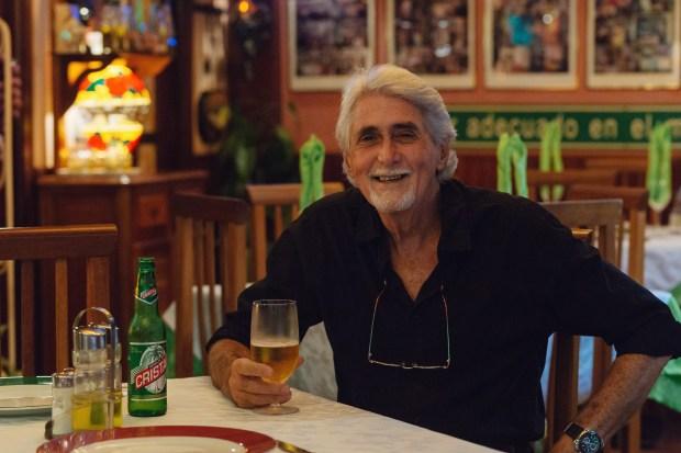 Omar González Rodríguez of Gringo Viejo. (Photo by Chris Rhee)