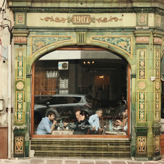 Cafe Brasilero is the oldest cafe in Montevideo.