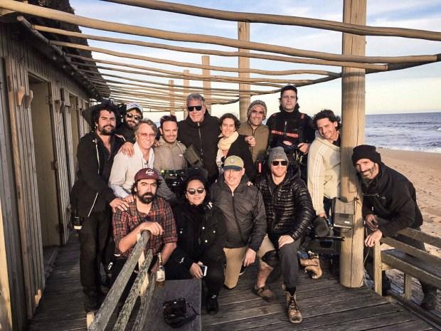 Tony with the crew at La Caracola.