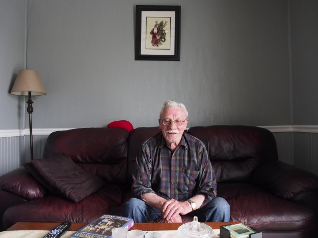 Gord Weir, in his home.