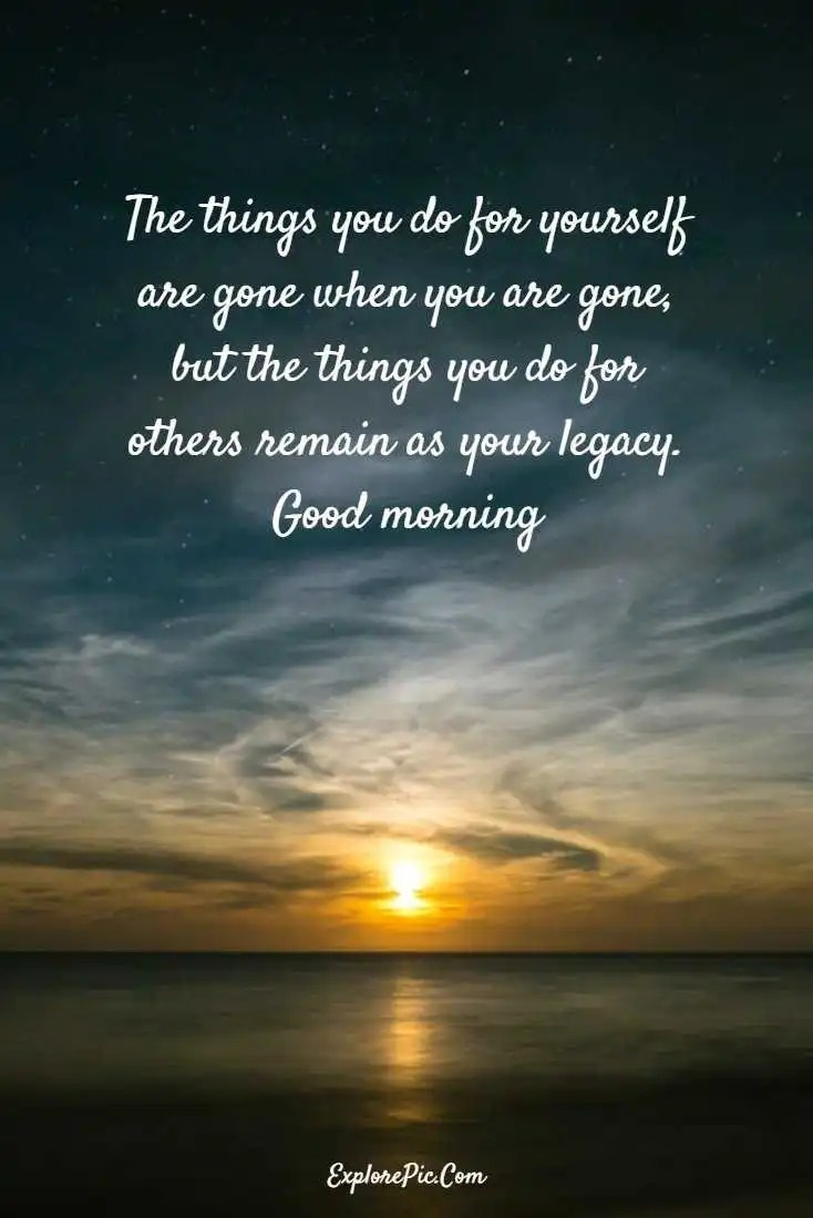 100 Beautiful Good Morning Quotes Sayings About Life Explorepic