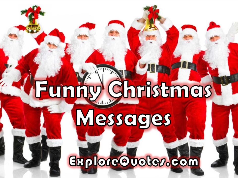 Funny Christmas Messages Images Pictures For WhatsApp