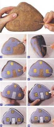 painted pebbles painted rocks