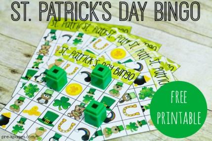 idées activités saint patrick bingo à imprimer gratuitement