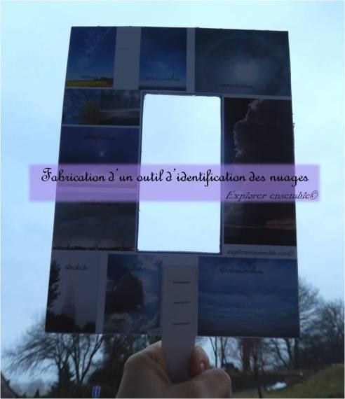 observer et identifier nomenclature nuages Montessori