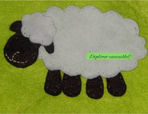 coudre un mouton