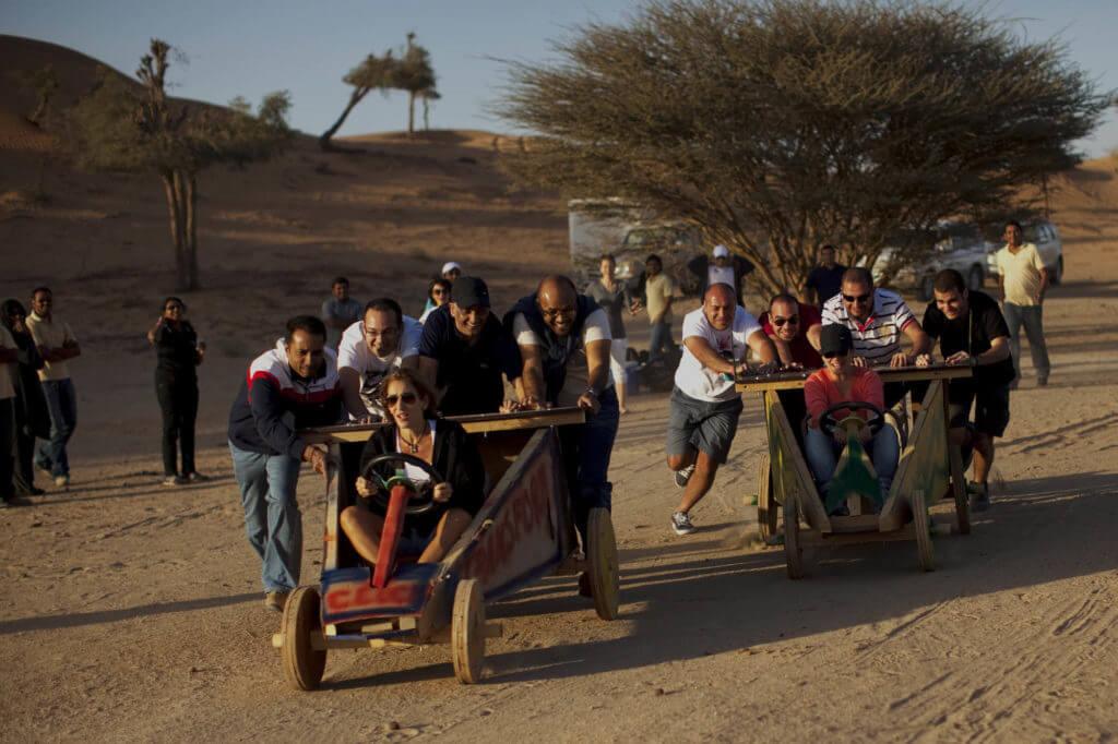 Team Building Activities in Dubai