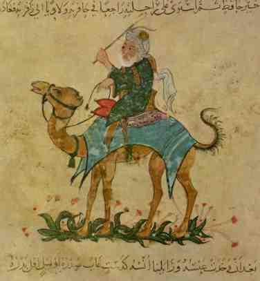 Ibn Battuta, the great Moroccan-Persian traveller......