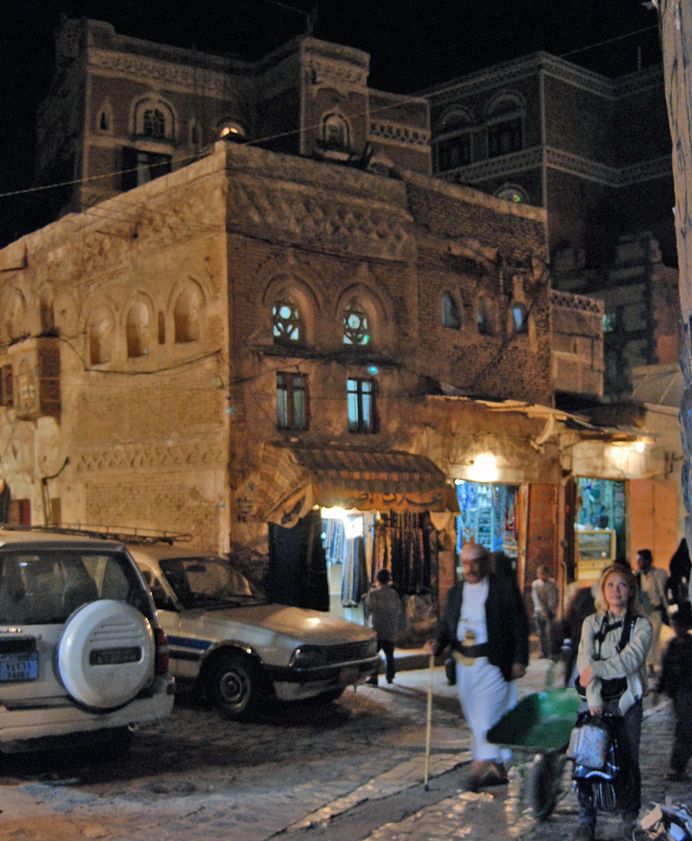 The exiting souk....