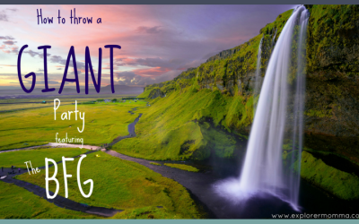How to give a giant party featuring The BFG